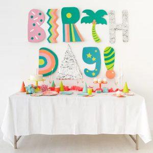 Баннер на стену Birthday