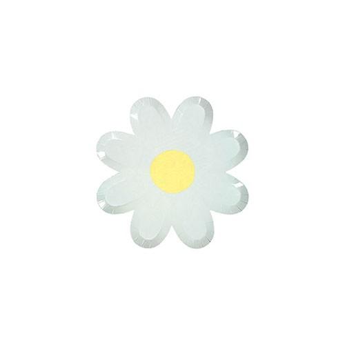 Тарелки в форме цветка Meri Meri