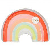 Тарелки «Rainbow» 12 шт. от Meri Meri
