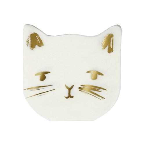 Салфетки «Кошечки» 16 шт. от Meri Meri