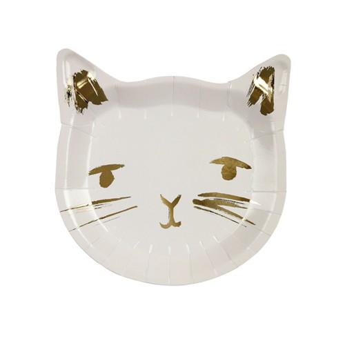 Тарелки «Кошечки» 8 шт. от Meri Meri