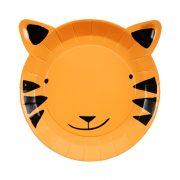 Тарелки «Тигр» 12 шт. от Meri Meri