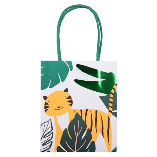 Подарочные пакеты «Джунгли» 8 шт. от Meri Meri