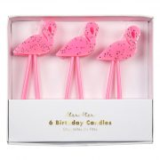 Свечи «Розовый фламинго» 6 шт. от Meri Meri