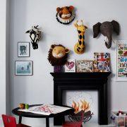 Декоративные головы Зебры Льва ,Тигра, Жирафа,Слона