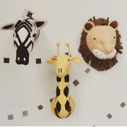 Декоративные головы Зебры, Жирафа, Льва