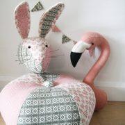 Декоративные головы Кролика и Фламинго