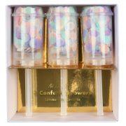 Хлопушки с пастельным конфетти 3шт. от Meri Meri