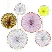 Цветочные вертушки от Meri Meri
