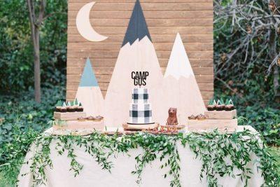 Camping party в клеточку